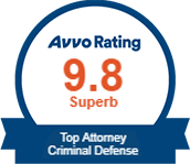 Superb Avvo Rating - Top Attorney Criminal Defense